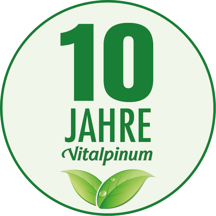 10JahreVitalpinum Sticker